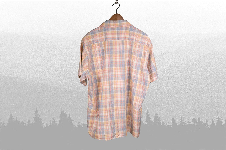 "Rare Vintage Golden Key 1950's-1960's Men's Short Sleeve Plaid Work Shirt - XL - 17"" - 17.5"" Retro, Hipster, Country,"