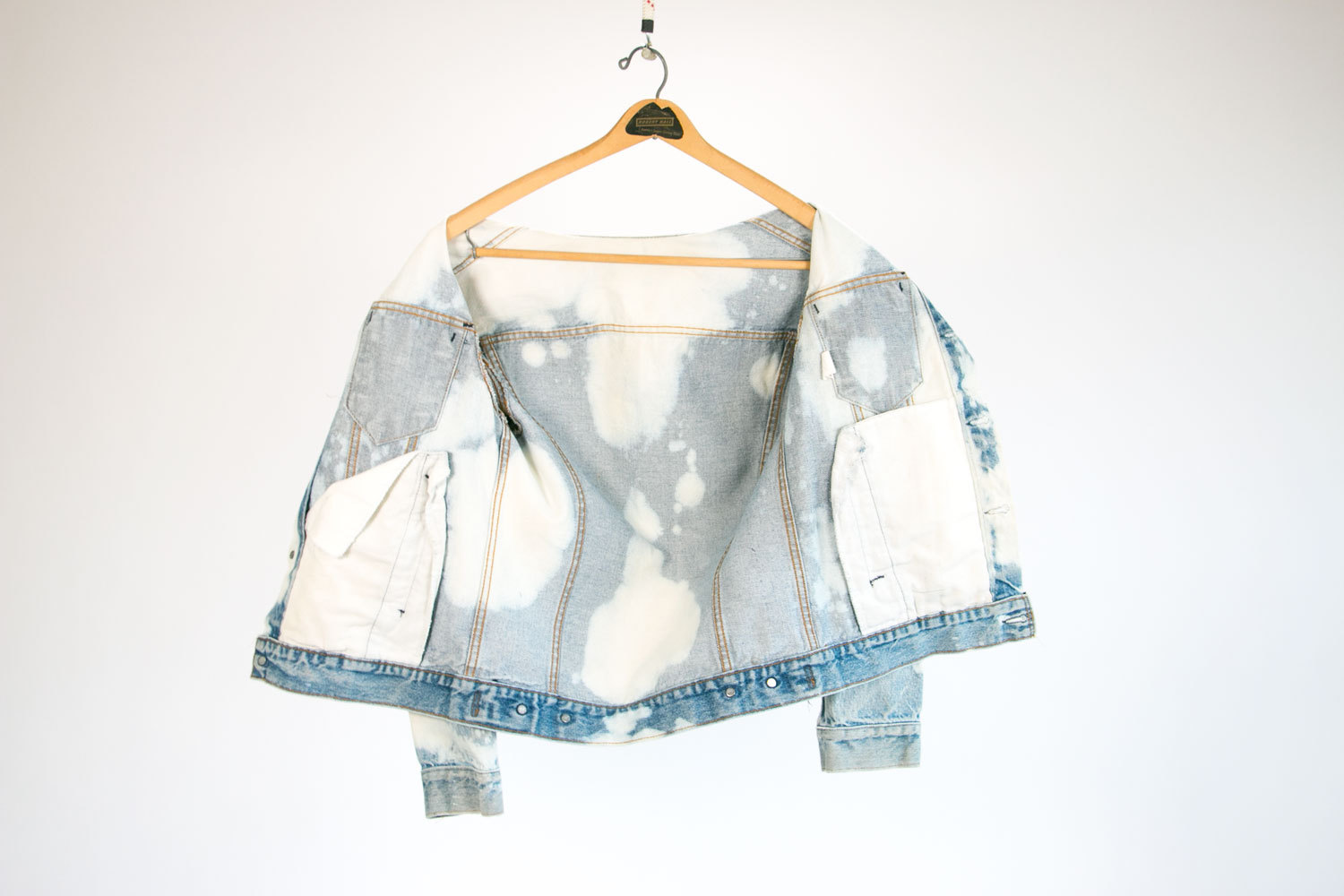 Vintage 1980's Levi's Denim Jacket // Bleached! // Men's Medium to Small, Women's Medium to Large // Retro // Rocker // Hipster