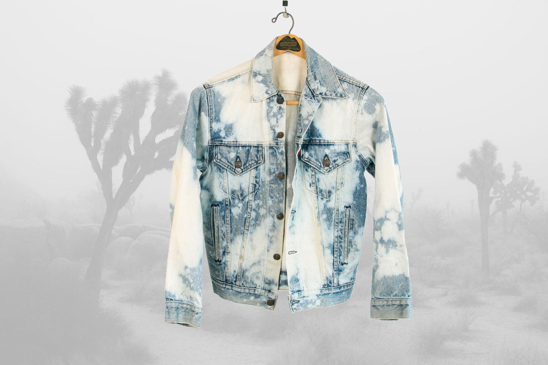Vintage 1980's Levi's Denim Jacket // Bleached! // Men's Medium to Small, Women's Medium to Large // Retro // Rocker // Hipster