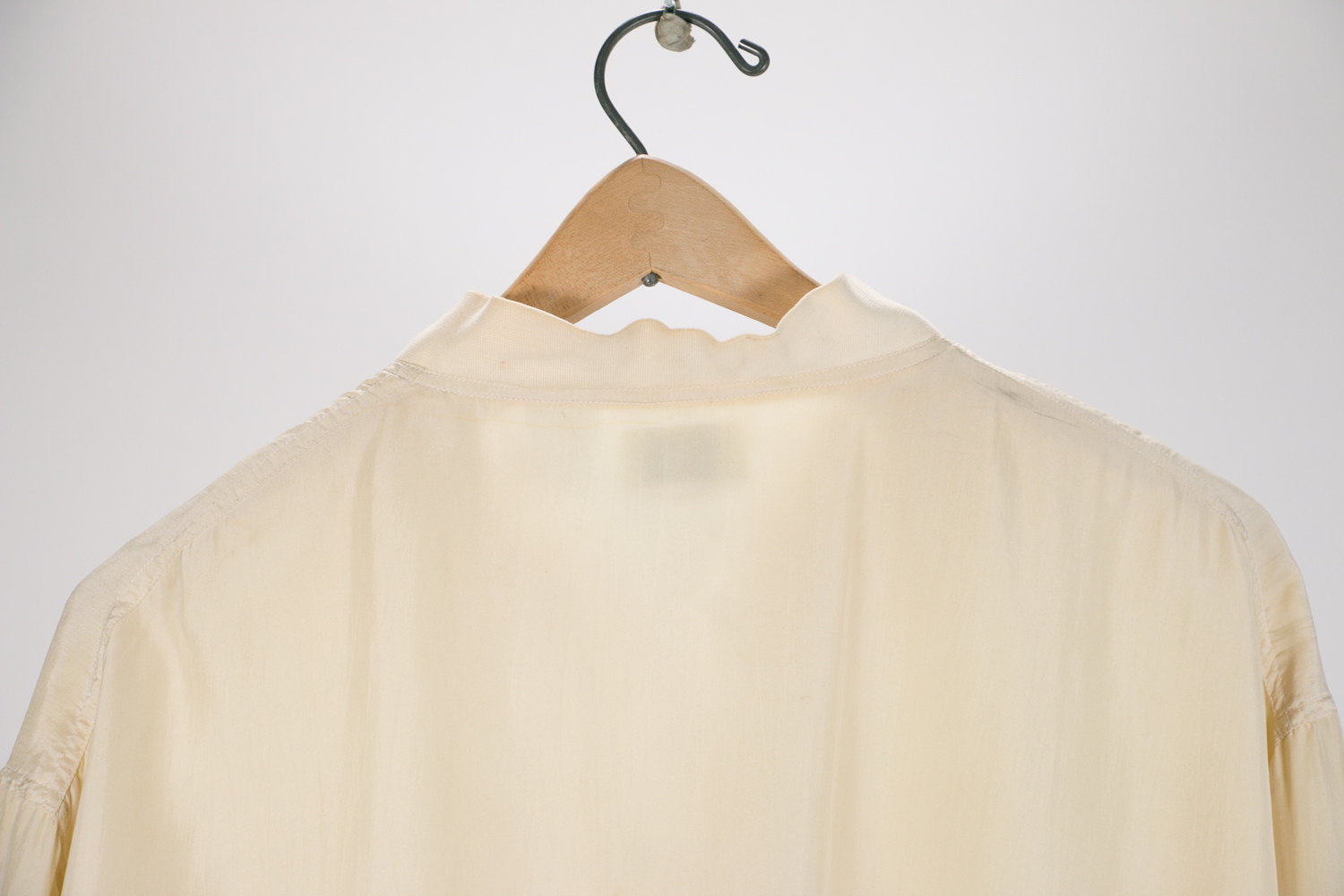 Vintage 1980's White / Cream Silk Jacket - Sarah Roberts - Women's Size Small - Eccentric, New Wave, Hipster