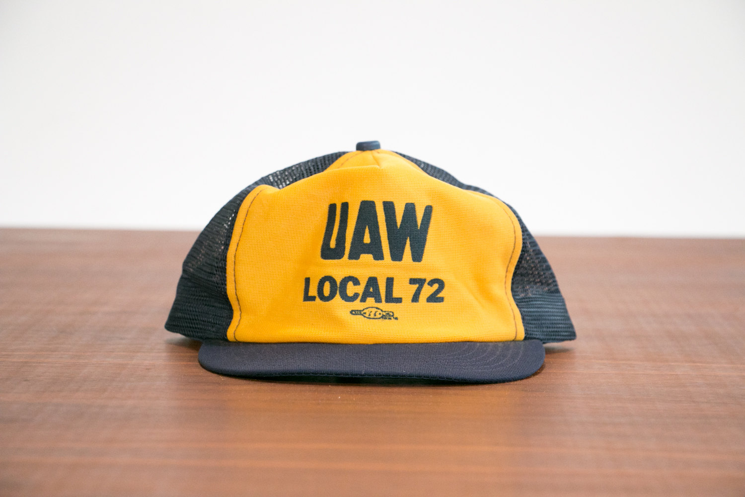 1950's Union Trucker Hat // UAW Local 72 //  Vintage, RARE! // United Auto Workers // Retro, Historical, Hipster, Rocker, Country, Folk