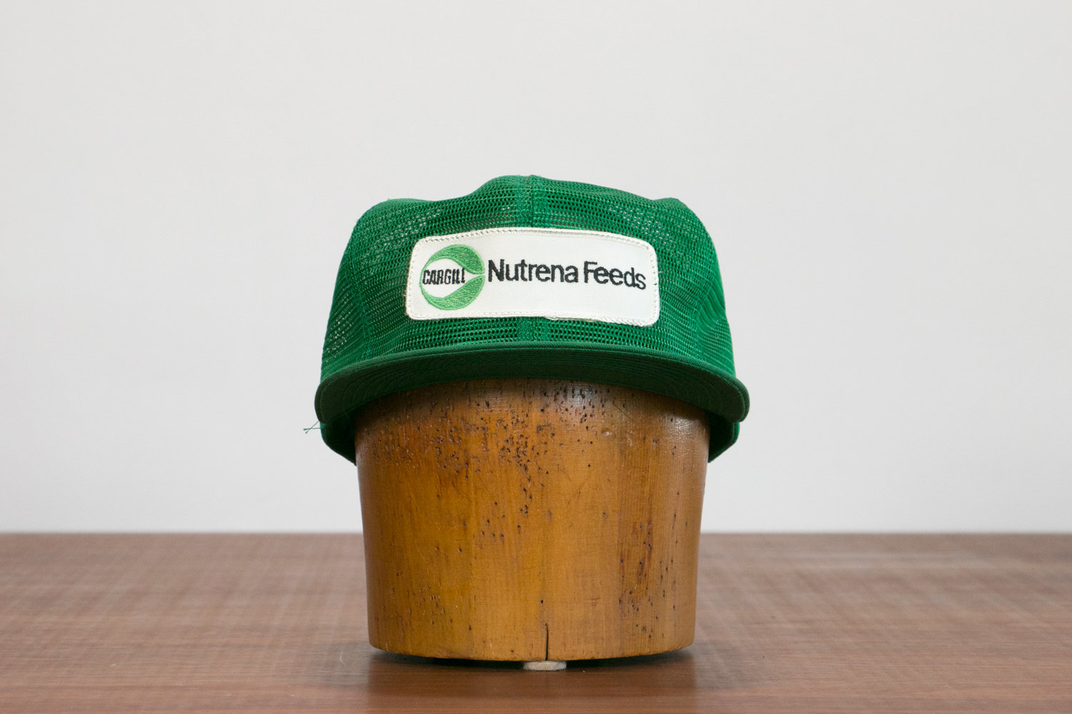 Rare Vintage Green Mesh Nutrena Feeds Trucker Cap // 1960's Wisconsin, USA // Farming, Hipster, Indie, Rocker, Punk, Country