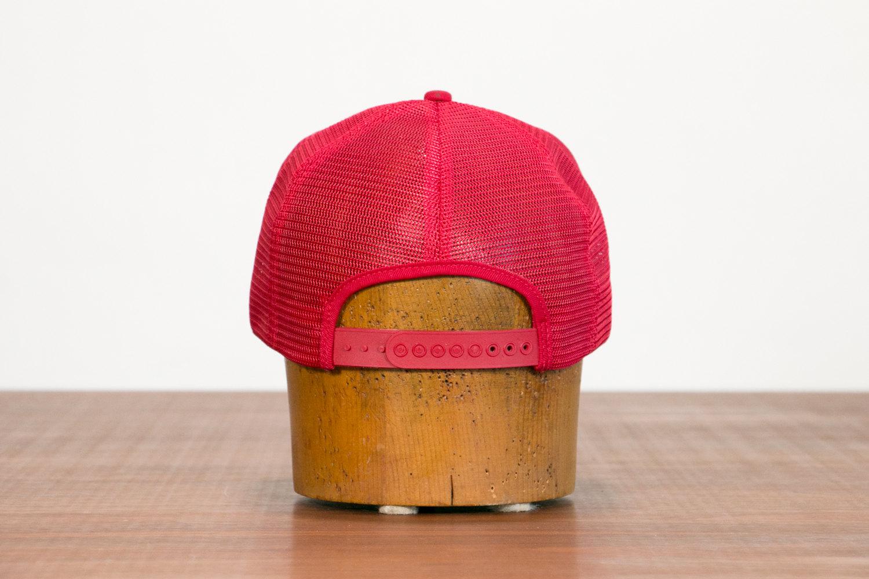 Vintage 1950's Company Uniform Mesh Trucker Cap Hat // Renk Seed, Wisconsin USA // Retro, Farming, Hipster, Indie, Rocker, Americana