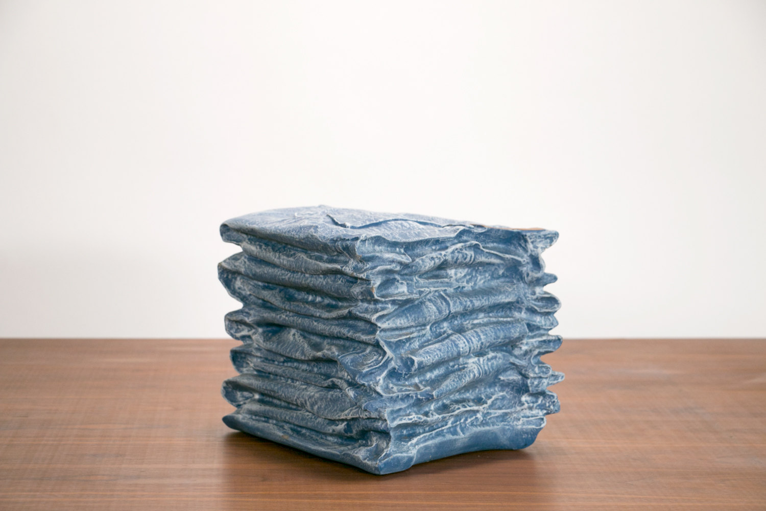 Vintage 1970's Fiberglass Stack of Jeans Display // Retro, Advertising, Hipster, Post Modern, Art