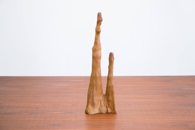Vintage 1970's Wooden Stalagmite Root Sculpture, Cypress Knee // Mid Century Modern, MCM //  Retro, Hipster, Rustic, Mod