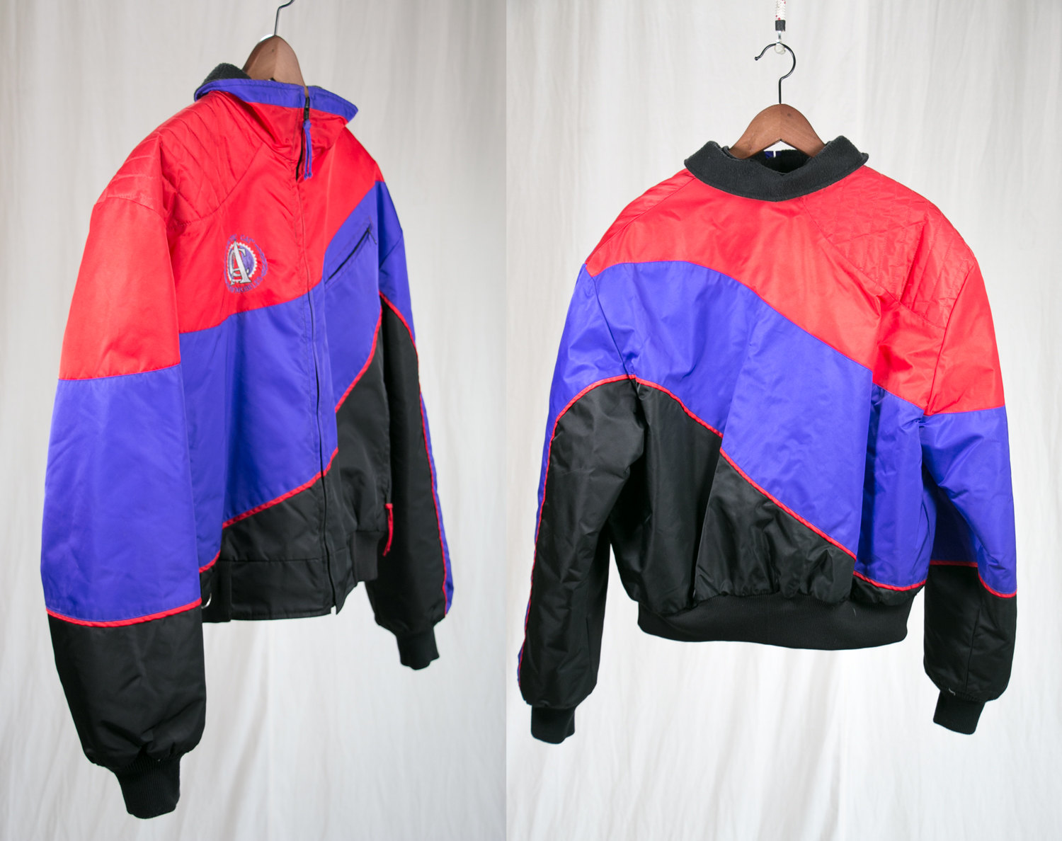 "Vintage 1980's Neon Arctic Cat Snowmobile Jacket - Unisex / Women's Large - ""Panther Jacket"" - Indie, Hipster, Articwear, Three River Falls"