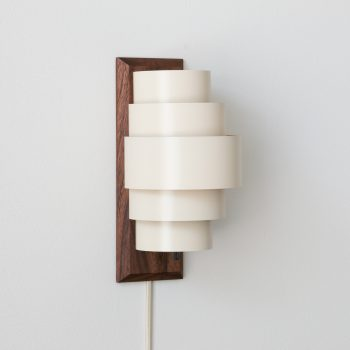 Bauhaus Snack Modern Sconce in White
