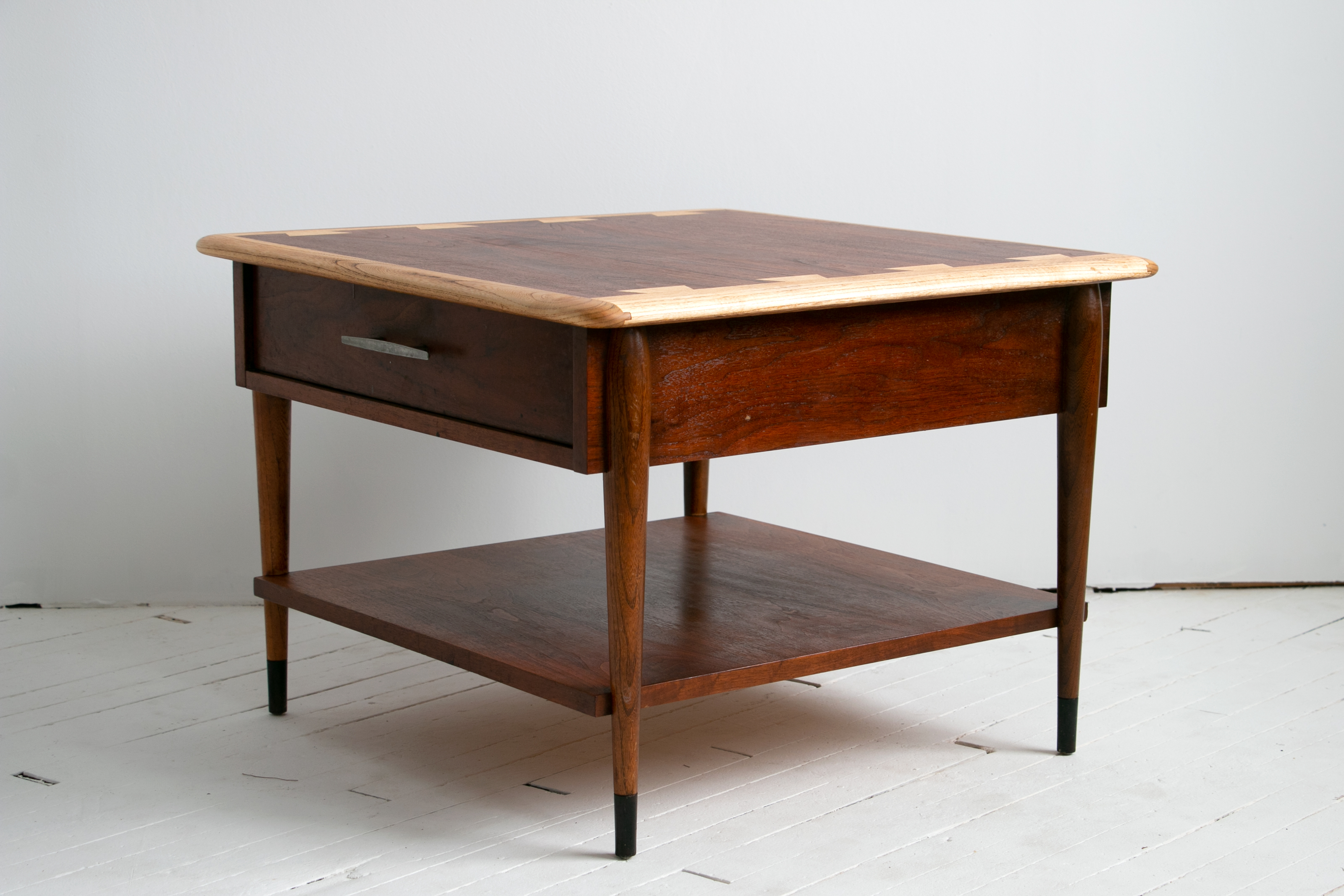Mid Century Modern Lane Acclaim Side Table with Drawer