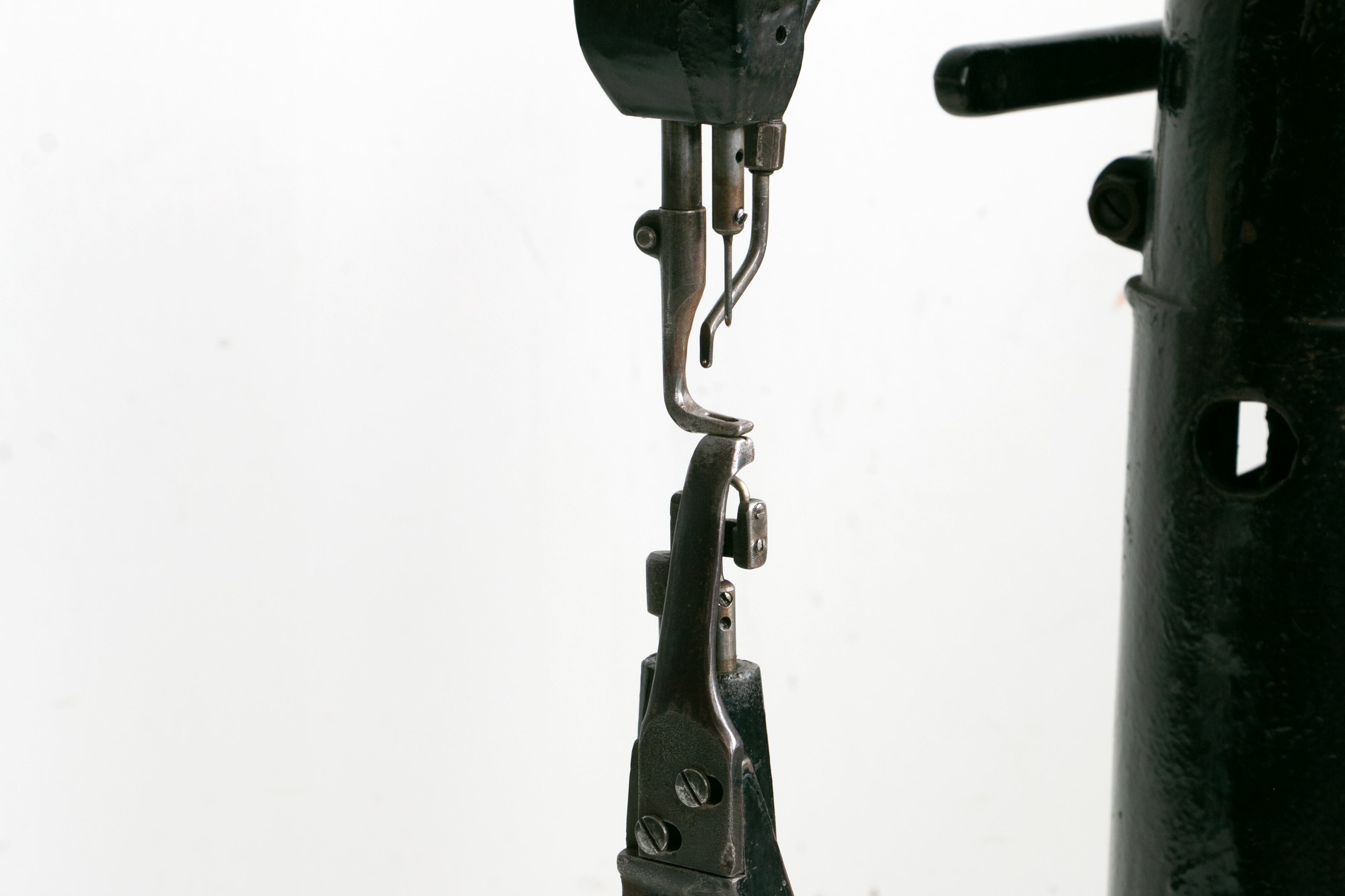 Puritan High Post Leather Sewing Machine For Sale