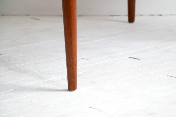 Solid Teak Wood Coffee Table by John Bone for Mikael Laursen, Denmark, 1960s-06