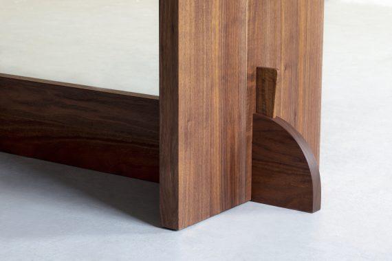 Walnut Table Inspired by Axel Einar Hjorth